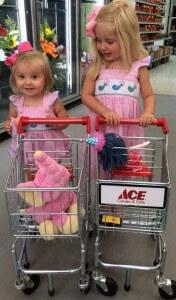 Melissa and Doug child's shopping cart