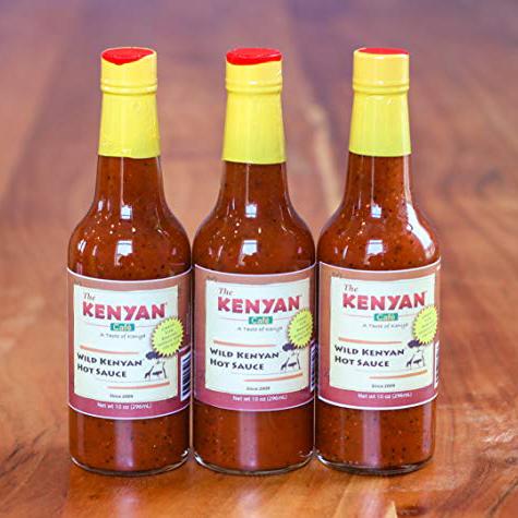 Kenyan Hot Sauce