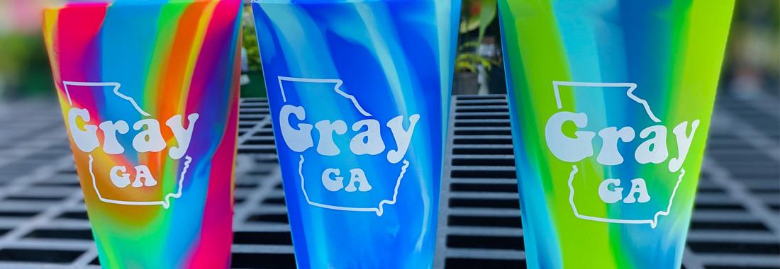 Gray GA Cups