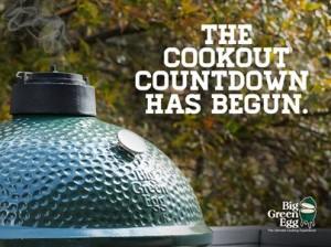 big green egg summer cookout
