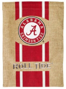ace burlap decor - University of Alabama