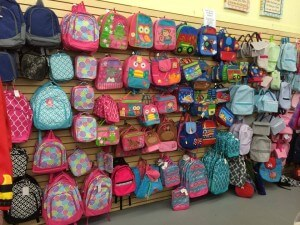backpacks and lunchboxes