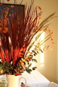 thanksgiving seasonal centerpiece