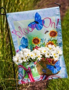 garden decor - bloom on