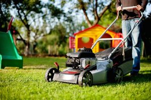 Mowing a Beautiful Lawn