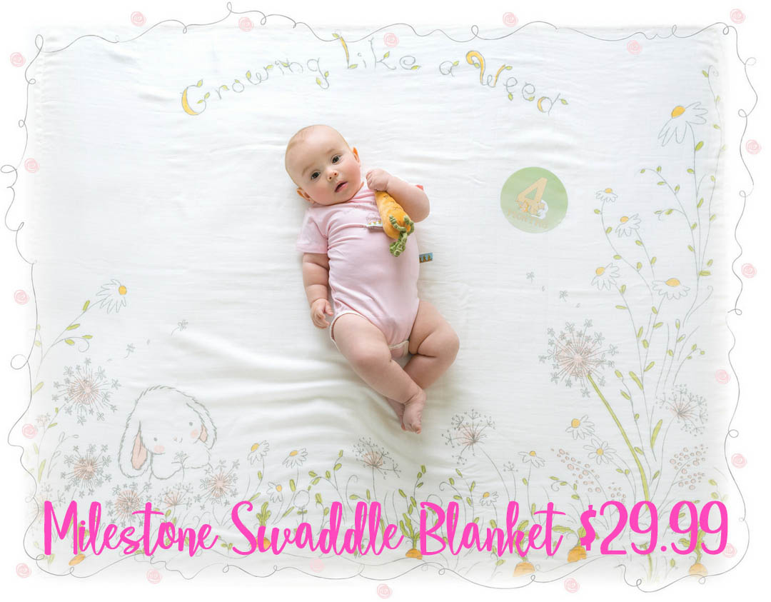 BBTB milestone swaddle blanket2