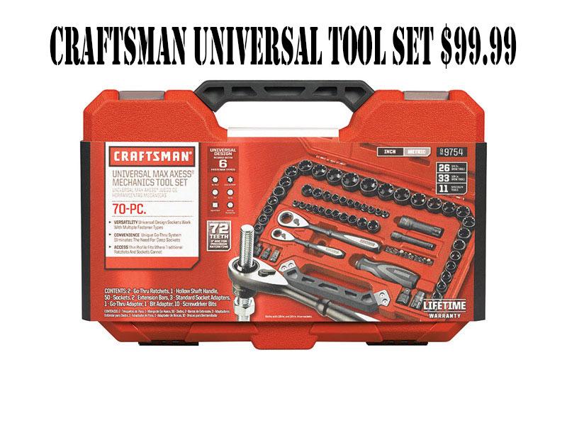Craftsman Universal Tool Se