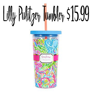 Lilly Pulitzer Tumbler