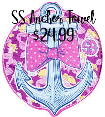 SS anchor Towel
